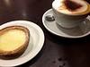 Quick Capuccino and Lemon Tart at Caffé Nero, Ilkley