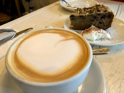 Coffee and Cake at Filmore and Union, Ilkley