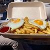 Double Egg and Chips at Peel