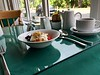 Breakfast at the Willowbank Guesthouse, Grantown-on-Spey