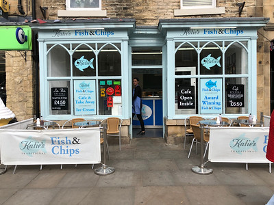 Katie's Fish and Chips, Barnard Castle