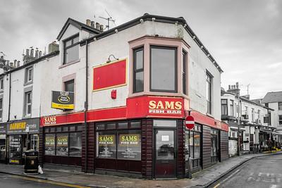 Sams Fish Bar, Morecambe
