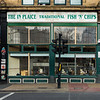The In Plaice (Drake's) Fish 'n' Chip shop, Bradford