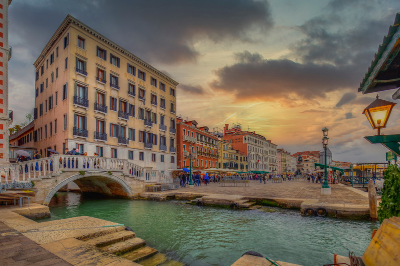 Canal In Venice, Venice Italy
