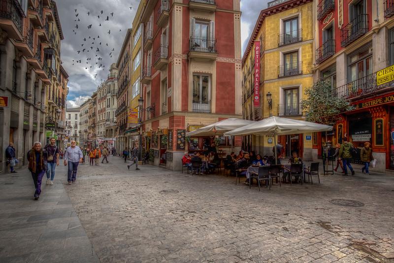 Cafe, Madrid Spain