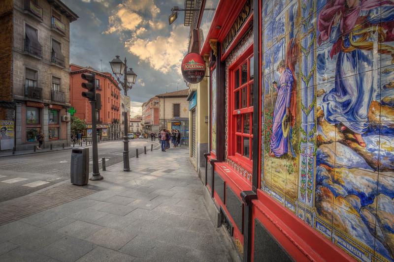 Tavern In Madrid Spain