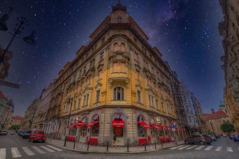James Dean Cafe With Stars, Prague Czech Republic
