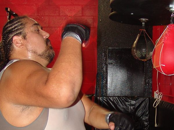 Speed bag training