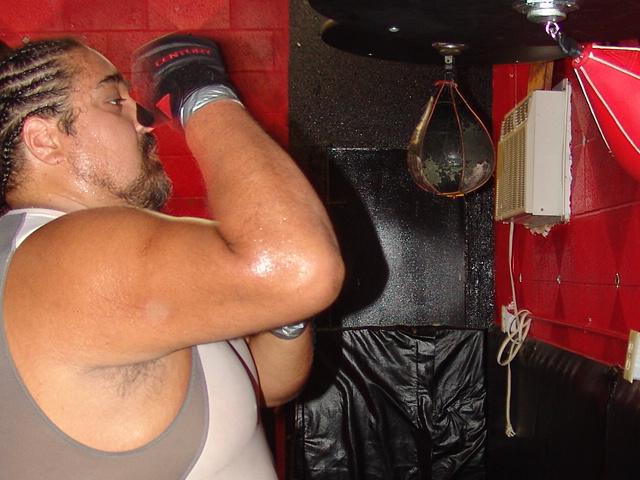 Cage Fighting Training