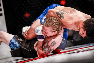 Adam Habeil vs Brynn Heathcock at Caged Aggression Challengers 5 in Davenport, IA