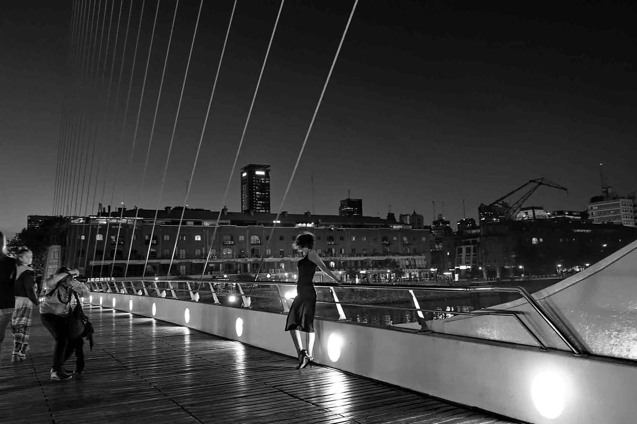 Puente de la Mujer - Puerto Madero - Buenos Aires - Argentina