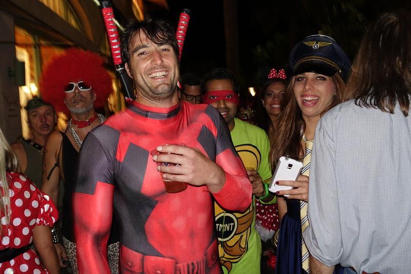 Halloween at Lincoln Road, Miami, Florida, 2014