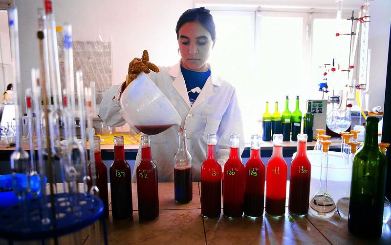 Laboratorio en bodega