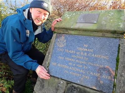 Boy's Brigade plaque