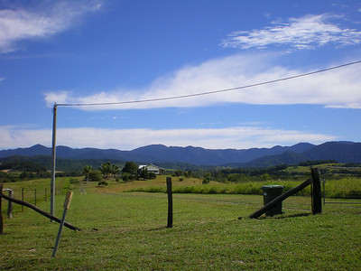 Mountains behind Mossman