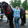 Suzanne, a horse trainer locally, lends a hand, the only hand Michelle trusts with the horses.