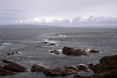 "The "" Merry Men of Mey"". Off St John's Point"