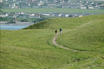 Walking back from Holborn Head: summer 1977
