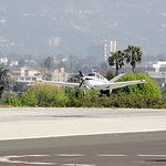 Caitlyn Jenner Lands with a mysterious man in Santa Monica Airport