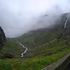 Trollstigen halfway up