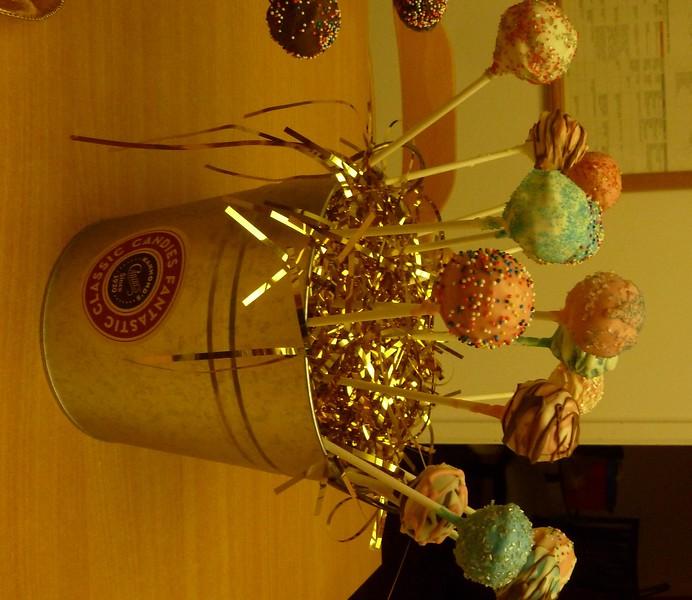 Cake Pops Holidays 2011
