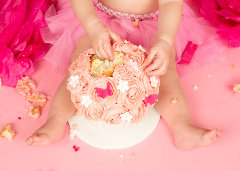 Cake Smash Photography Session in Paisley, Glasgow