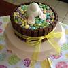 Easter bunny butt cake!