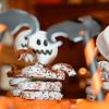 Skeleton cupcakes!