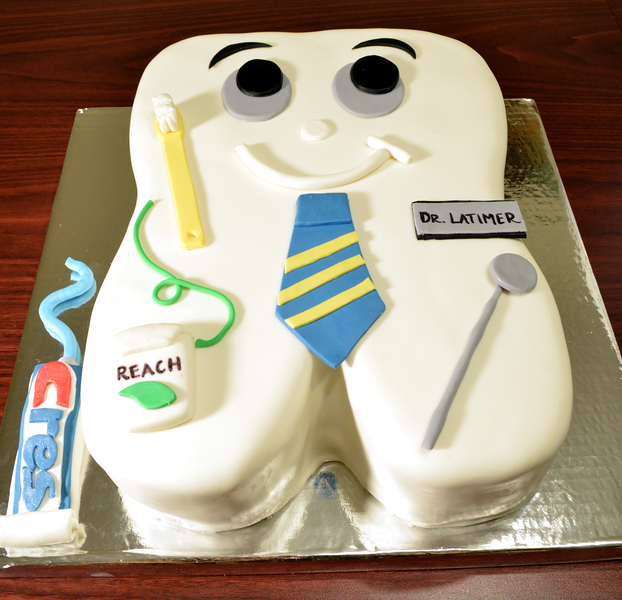Dental school graduation cake!