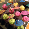 Summer margarita cupcakes!