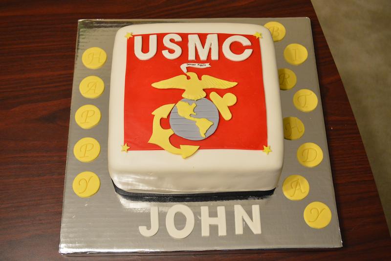 USMC BDAY CAKE!
