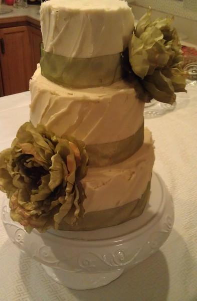 Textured Buttercream Cake
