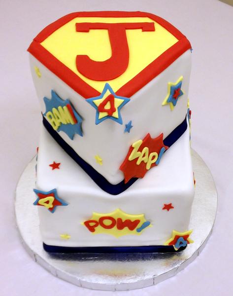 Superman Birthday Cake!