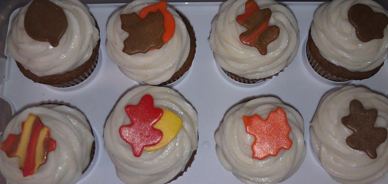 Fall cupcakes!