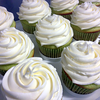 Key lime cupcakes with coconut buttercream :D