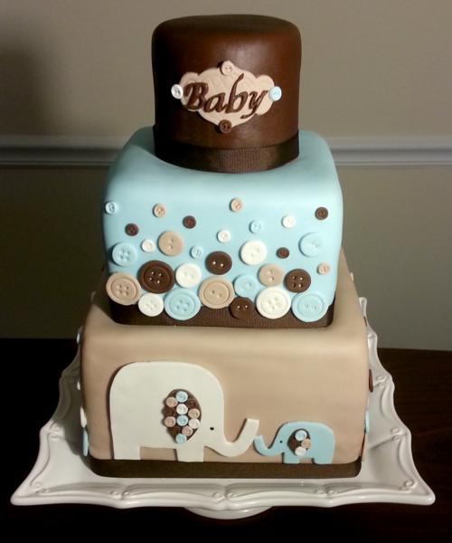 Baby Boy Cake!