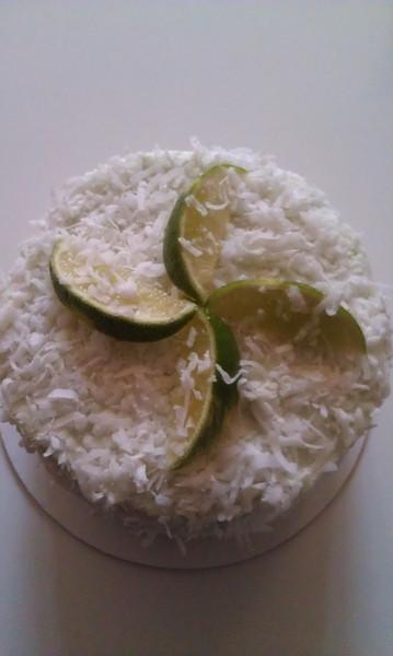Tropical Coconut Cake