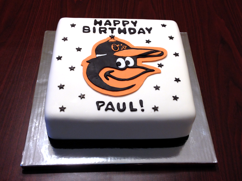 Orioles Birthday Cake!