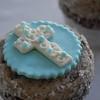 Baptism cupcakes!