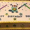 Oshawott Sheet Cake