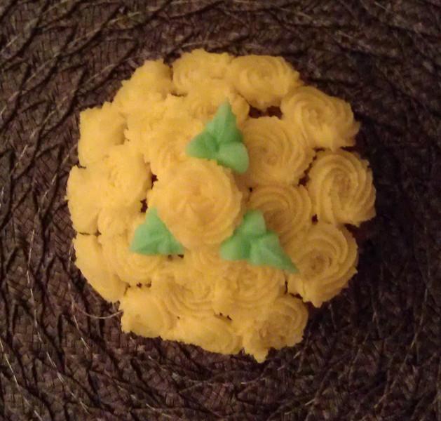 Rosette cupcakes!