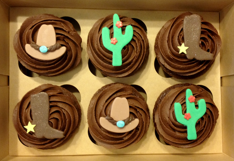 Country Western Cupcakes