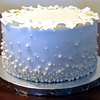 Edible Pearl Wedding Cake