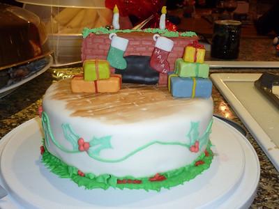 2010 12 25-Christmas Cake 022