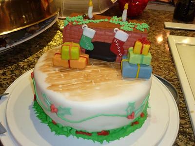 2010 12 25-Christmas Cake 020