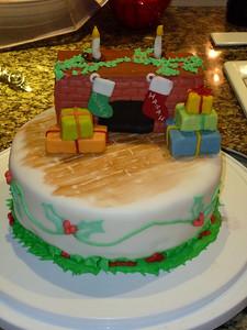 2010 12 25-Christmas Cake 021
