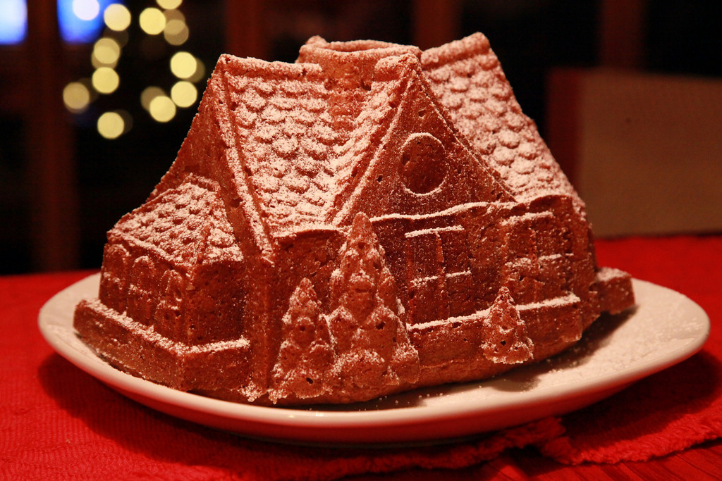 Gingerbread house for the holidays