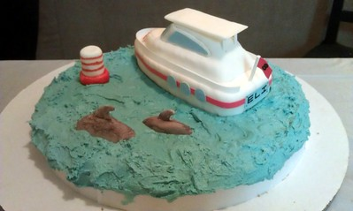 Eli's Yacht Cake, by Craig and Olivia (12/15/12). (Click here for more photos)