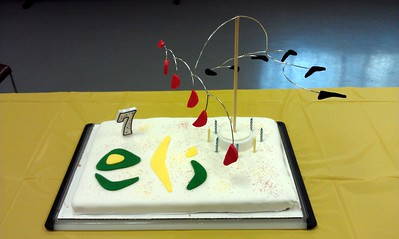 Eli's Calder Cake, by Craig and Olivia (12/17/11). (Click here for more photos)