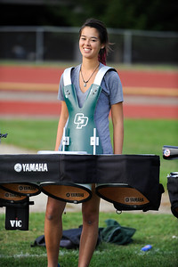 The Pride of the Pacific, the Cal Poly Mustang Marching Band rehearses on Thursday, Nov. 1, 2012. Photo by Ian Billings
